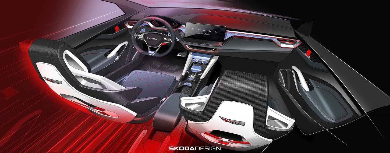 Car Seat Cover Design >> ŠKODA VISION RS