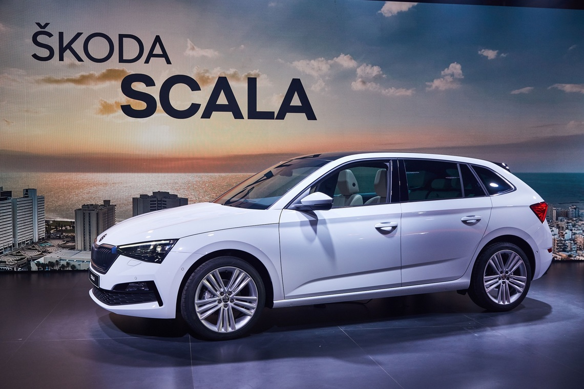 Image result for skoda scala
